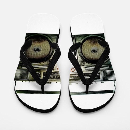 RETRO BOOMBOX Flip Flops