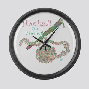 Hooked On Crochet Large Wall Clock