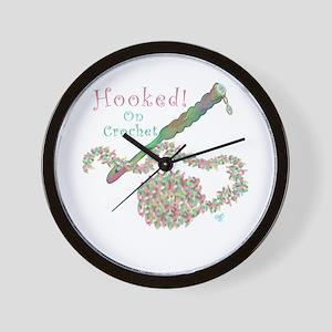 Hooked On Crochet Wall Clock