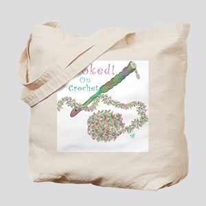 Hooked On Crochet Tote Bag