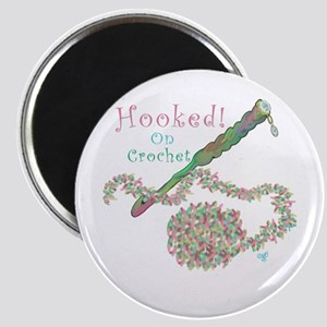 Hooked On Crochet Magnet