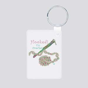 Hooked On Crochet/iCrochet Aluminum Photo Keychain