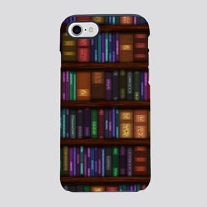 Old Bookshelves iPhone 7 Tough Case