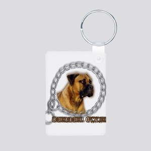 Boerboel Owner Aluminum Photo Keychain