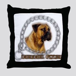 Boerboel Owner Throw Pillow