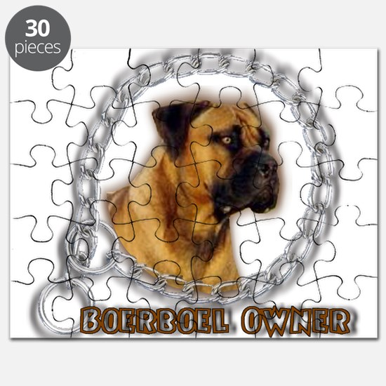 Boerboel Owner Puzzle