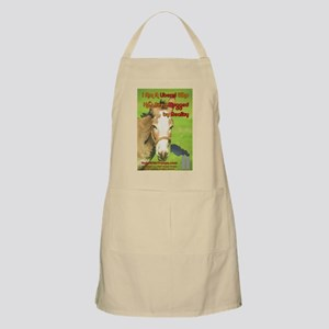 A Liberal Who Has Been Mugged by Reality! Apron