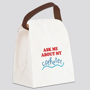 Catheter 02 Canvas Lunch Bag