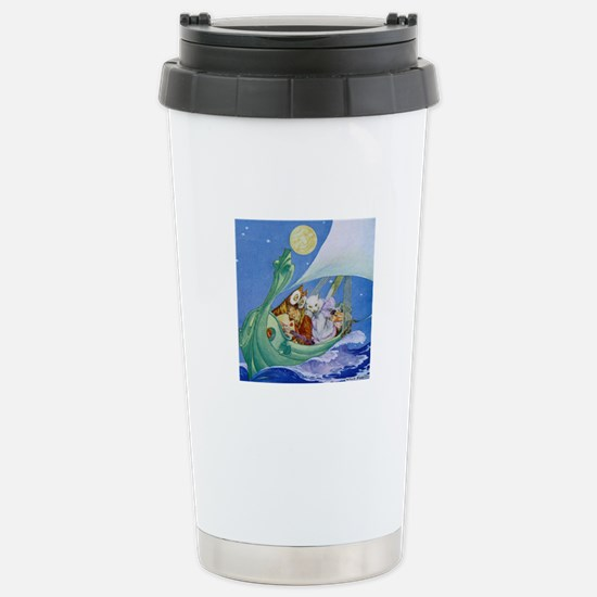 The Owl & the Pussycat Stainless Steel Travel Mug