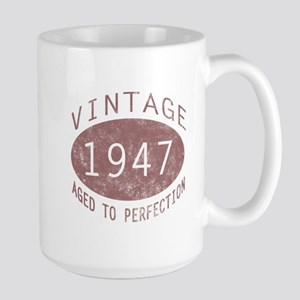 1947 Vintage (Red) Large Mug