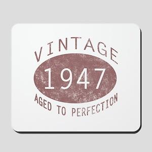 1947 Vintage (Red) Mousepad