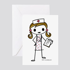 Cute Nurse Greeting Cards (Pk of 10)