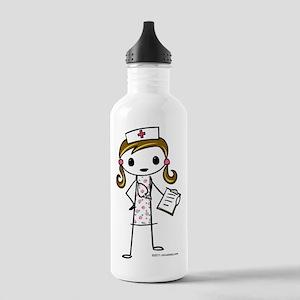 Cute Nurse Stainless Water Bottle 1.0L