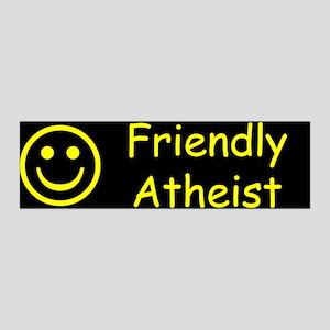 Friendly Atheist 36x11 Wall Decal