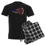 Lacrosse FlagHead Men's Dark Pajamas