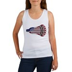 Lacrosse FlagHead Women's Tank Top