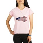 Lacrosse FlagHead Performance Dry T-Shirt