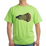 Lacrosse FlagHead Green T-Shirt