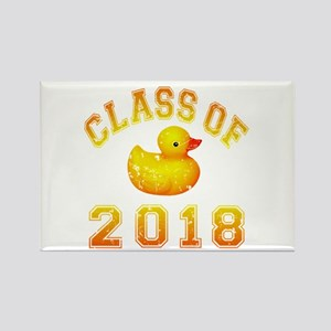 Class Of 2018 Duckie Rectangle Magnet