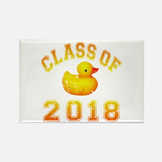 Class Of 2018 Duckie Rectangle Magnet (100 pack)