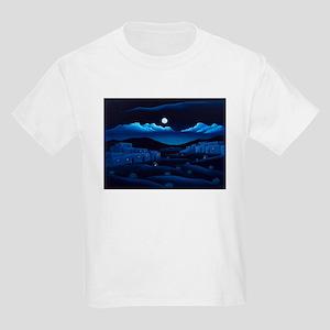 """Pueblo Moon"" Kids Light T-Shirt"
