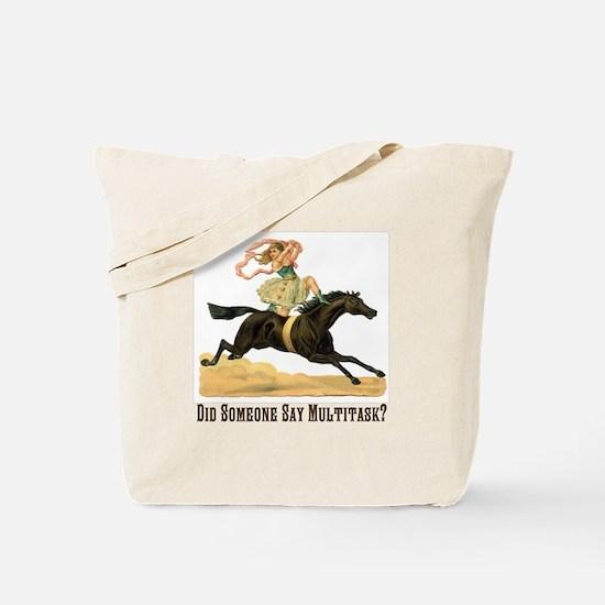 Multitasker Tote Bag