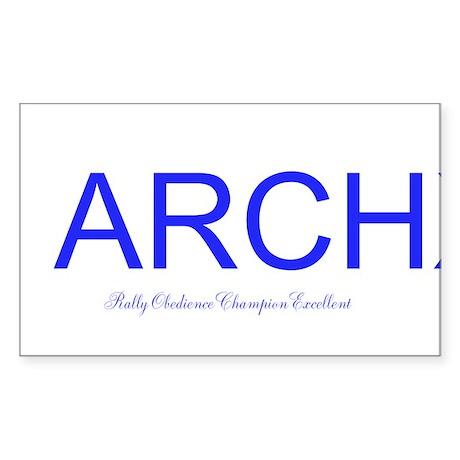 ARCHX Sticker (Rectangle)