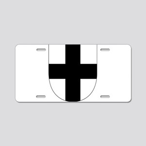 Teutonic Knights Aluminum License Plate