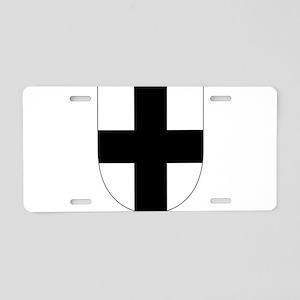 Teutonic Knights Aluminum License Plate