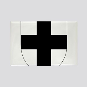 Teutonic Knights Rectangle Magnet