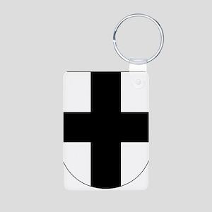 Teutonic Knights Aluminum Photo Keychain
