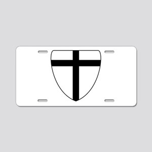 Teutonic Knights Coat of Arms Aluminum License Pla