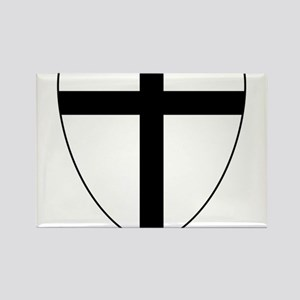 Teutonic Knights Coat of Arms Rectangle Magnet