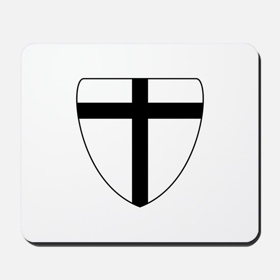 Teutonic Knights Coat of Arms Mousepad