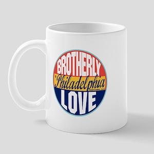 Philadelphia Vintage Label Mug