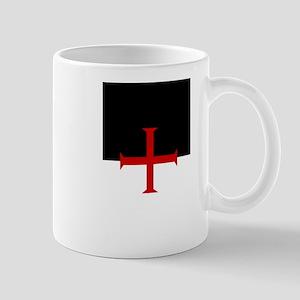 Knights Templar (black/white) Mug