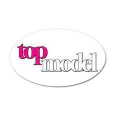 America's Next Top Model 22x14 Oval Wall Peel