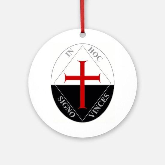 Knights Templar (Latin) Ornament (Round)
