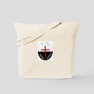 Knights Templar (Latin) Tote Bag