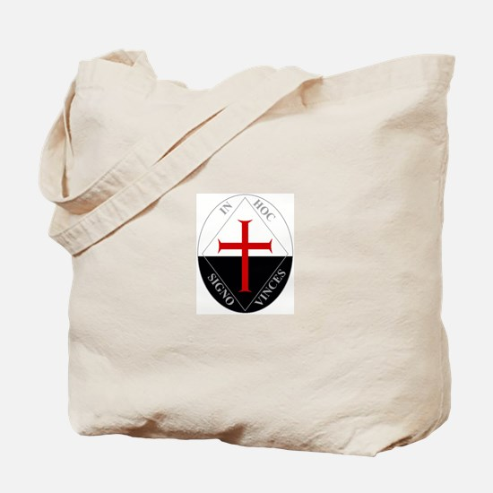 Knights Templar (Latin) Tote Bag