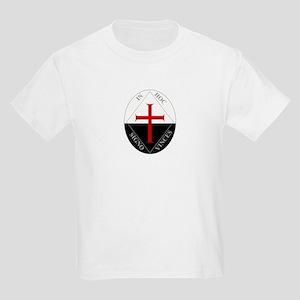 Knights Templar (Latin) Kids Light T-Shirt