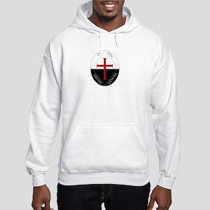 Knights Templar (Latin) Hooded Sweatshirt