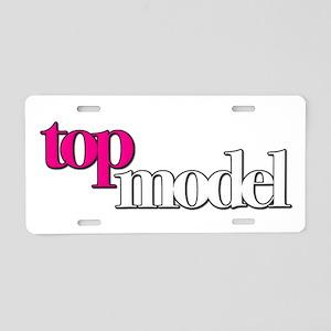 America's Next Top Model Aluminum License Plate