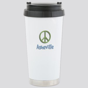 Peace Asheville Stainless Steel Travel Mug