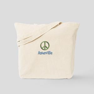 Peace Asheville Tote Bag