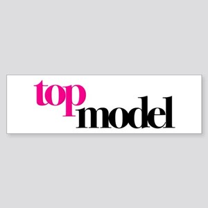 Top Model Sticker (Bumper)