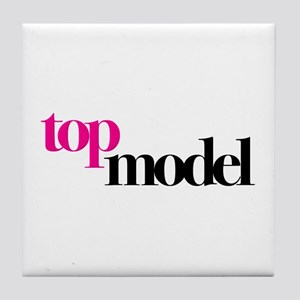 Top Model Tile Coaster