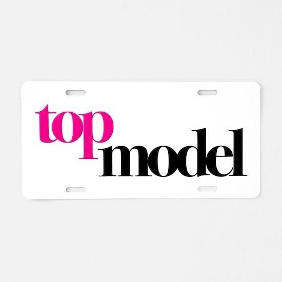 Top Model Aluminum License Plate