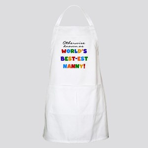 Otherwise Known Best Nanny Apron