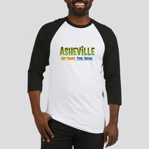 Asheville. Hot bands. Baseball Jersey